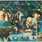 Ilya Kabakov, Holiday#5, 2014, olio su tela, 100,5x160x8, Collezione Ernesto Esposito