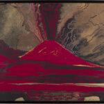 Andy Warhol, Vesuvio, 1984, acrilico su tela, 80x100, Collezione Consolandi
