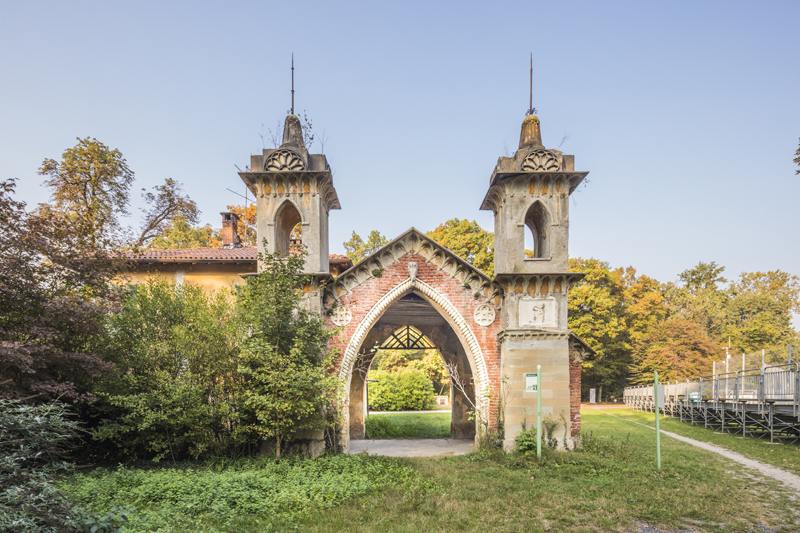 Serraglio dei Cervi, Foto di Mario Donadoni © Archivio Consorzio Villa Reale e Parco di Monza