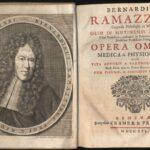 Johann Georg Seiller (1663-1740), Ritratto di Bernardino Ramazzini, incisione, dall'Opera omnia, Ginevra 1716, Archivio storico comunale di Carpi