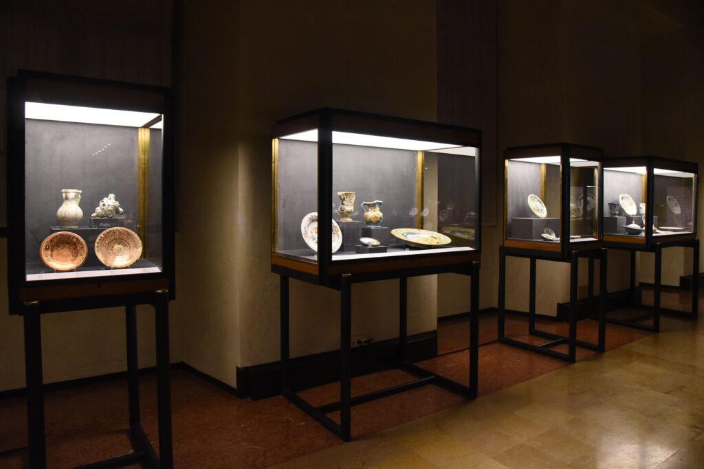 Musei civici di Palazzo Farnese - Piacenza - sala delle ceramiche - Foto Mauro Del Papa