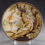 Bacile, Parma, Real Fabbrica della Maiolica e Vetri, terzo quarto XVIII secolo, maiolica, Musei Civici di Palazzo Farnese, Piacenza