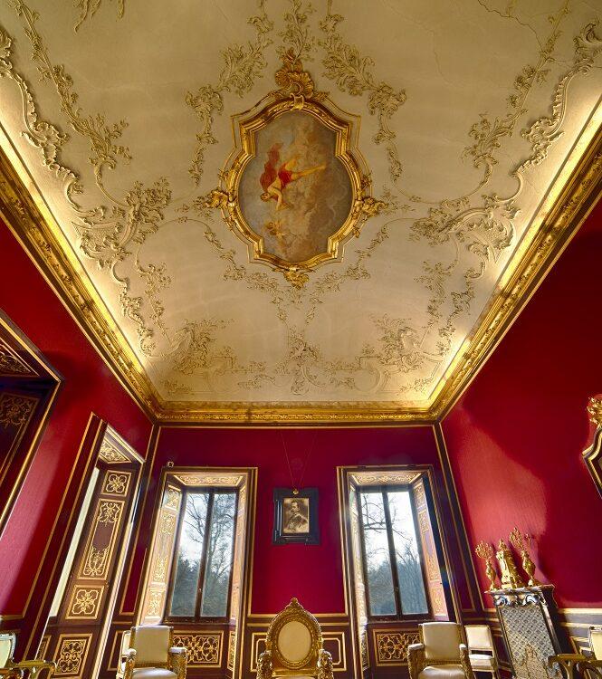 Sala delle Udienze, Appartamenti Reali, Foto di Mario Donadoni, ©Archivio Consorzio Villa Reale e Parco di Monza