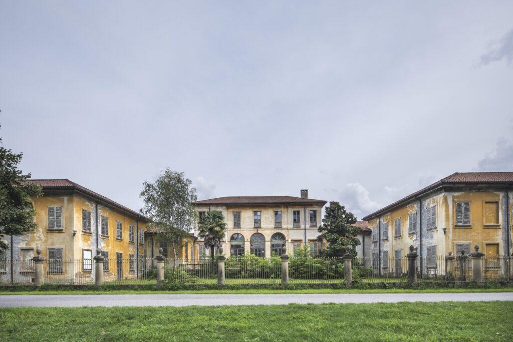 Villa Mirabellino, Parco della Reggia di Monza, Foto di Mario Donadoni, Archivio Consorzio Villa Reale e Parco di Monza