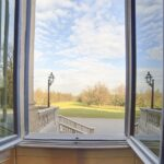 Appartamenti Reali, finestra sui Giardini Reali, Foto di Mario Donadoni, ©Archivio Consorzio Villa Reale e Parco di Monza