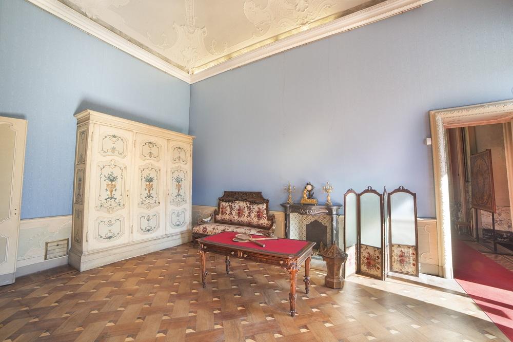 Boudoir della Regina, Appartamenti Reali, Foto di Mario Donadoni, ©Archivio Consorzio Villa Reale e Parco di Monza