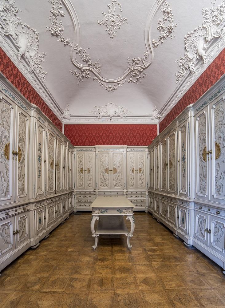 Guardaroba del Re, Appartamenti Reali, Foto di Mario Donadoni, ©Archivio Consorzio Villa Reale e Parco di Monza