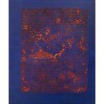 Massimo Kaufmann, senza titolo, 2019, olio su tela, cm 120x100