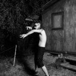 Simone Bergantini, WATERDROP (How to dance rave music), 2020-21, stampa su cartoncino fotografico ai pigmenti, sequenza di 15 elementi, 80x60 cm