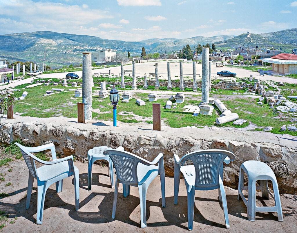 Alfred Seiland, Foro romano e Basilica, Sebastia, Samaria, Palestina, 2009